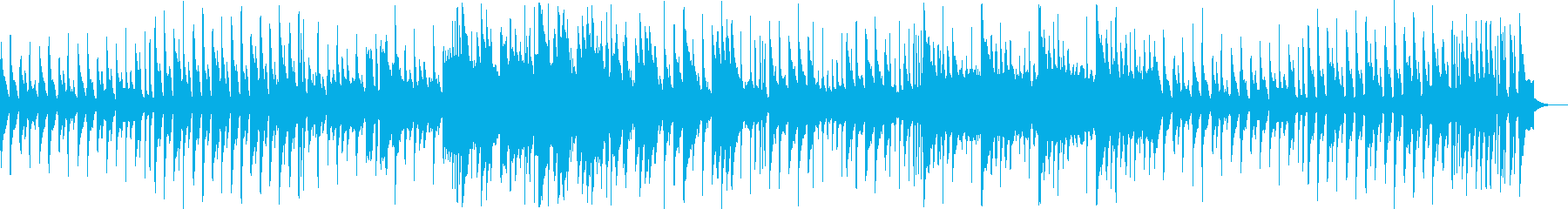 8bitメルヘン、コミカル 1コーラス版の再生済みの波形