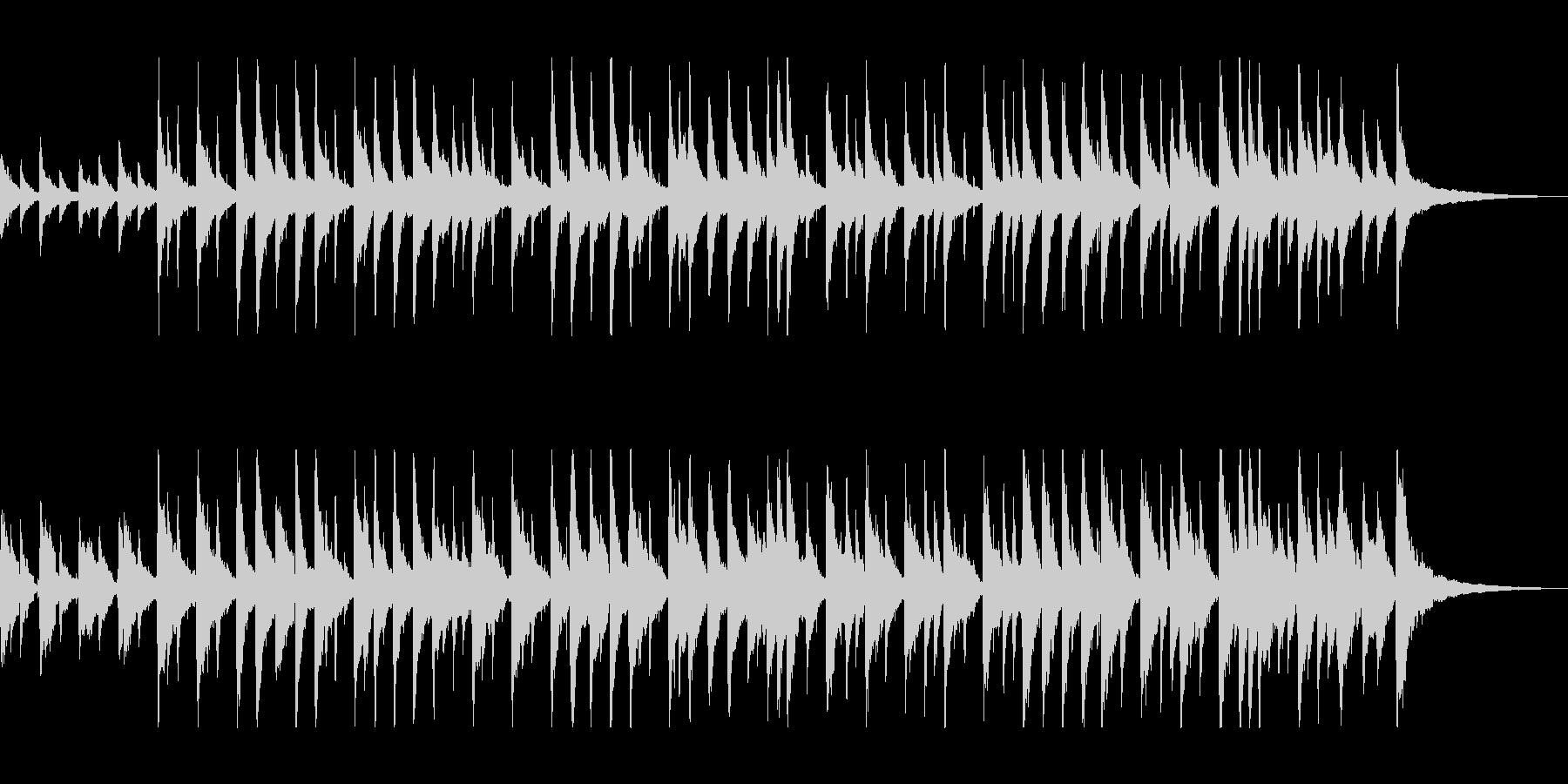 しっとりと穏やかなアコギサウンドの未再生の波形