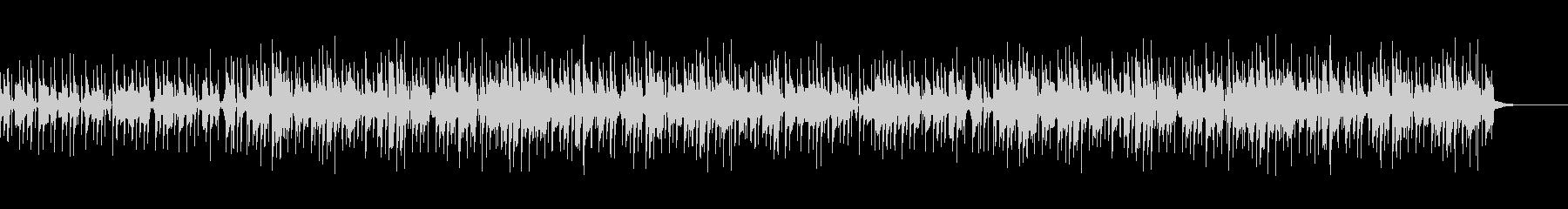 クイズが出されて考え中のクールなBGMの未再生の波形
