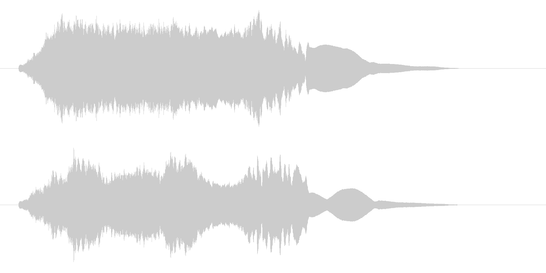 ファーン(サイレン、異空間)の未再生の波形