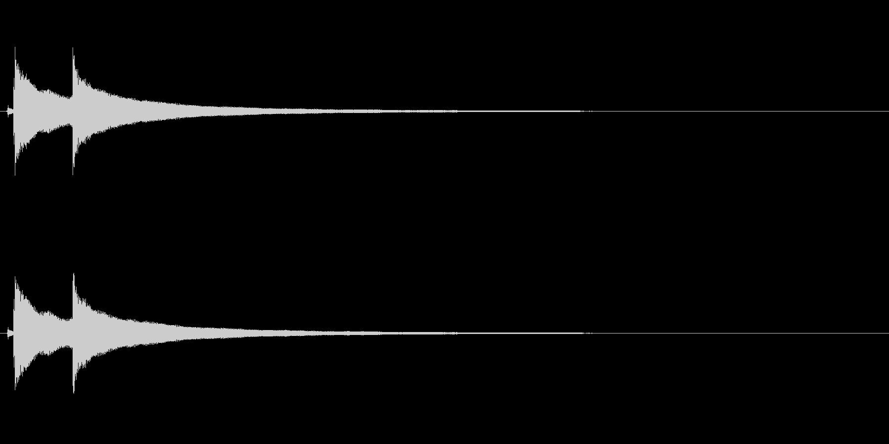 【コールベル タップ式01-2】の未再生の波形