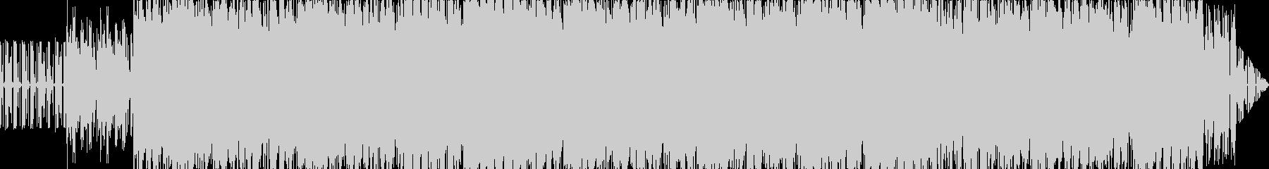 重厚な雰囲気のBGMの未再生の波形