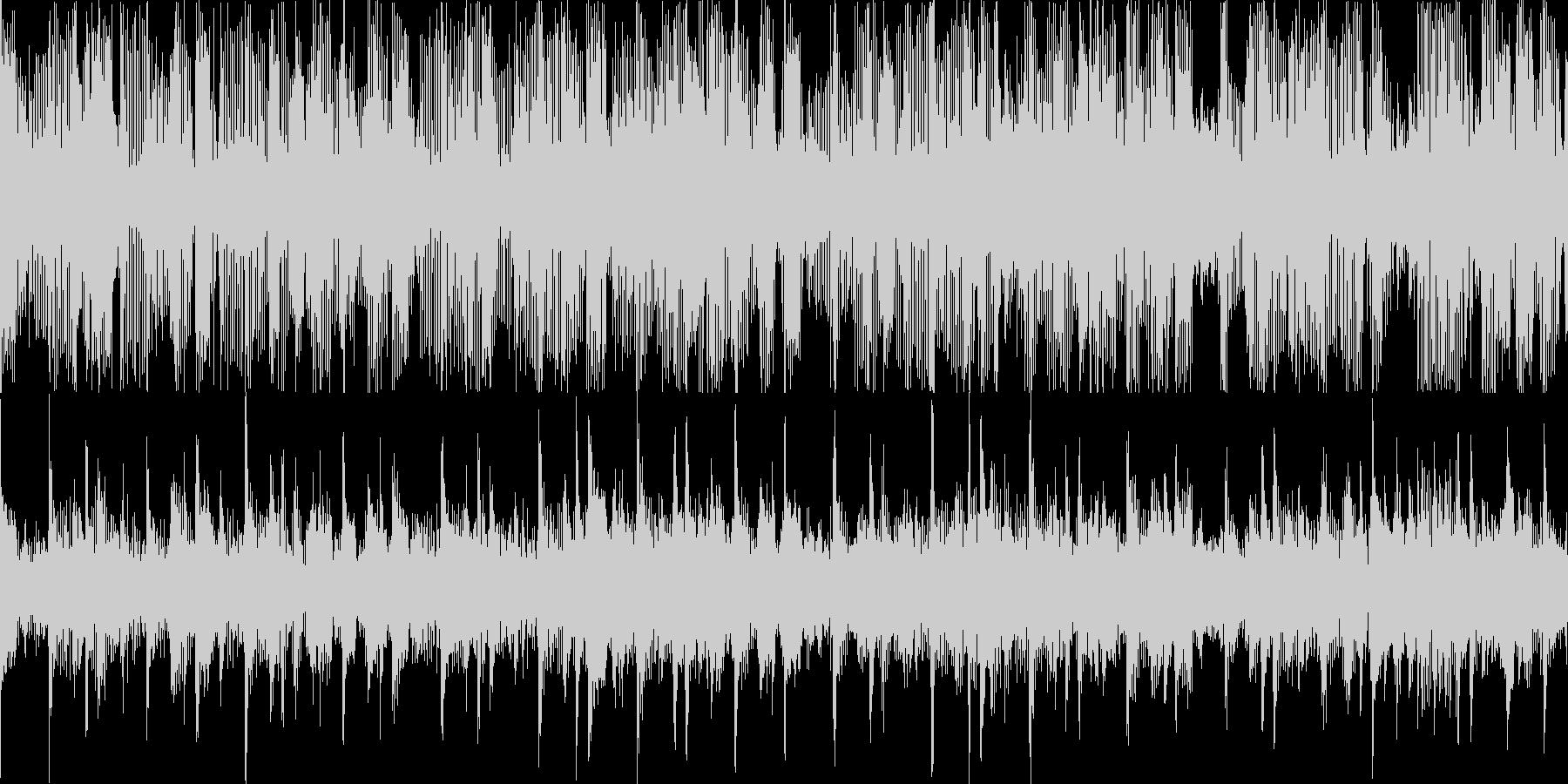 8bitピコピコ(メロディー2)の未再生の波形