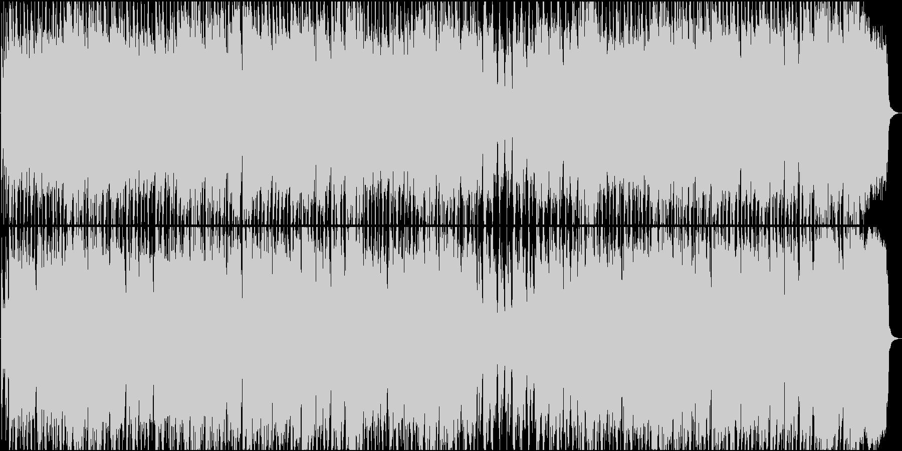 アコーディオンのロシア的なBGMの未再生の波形