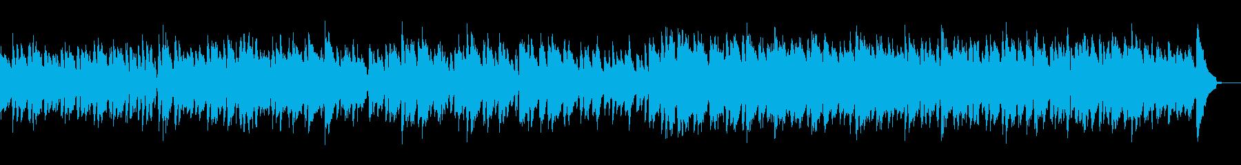 エレクトリックピアノのやさしいボサノバの再生済みの波形