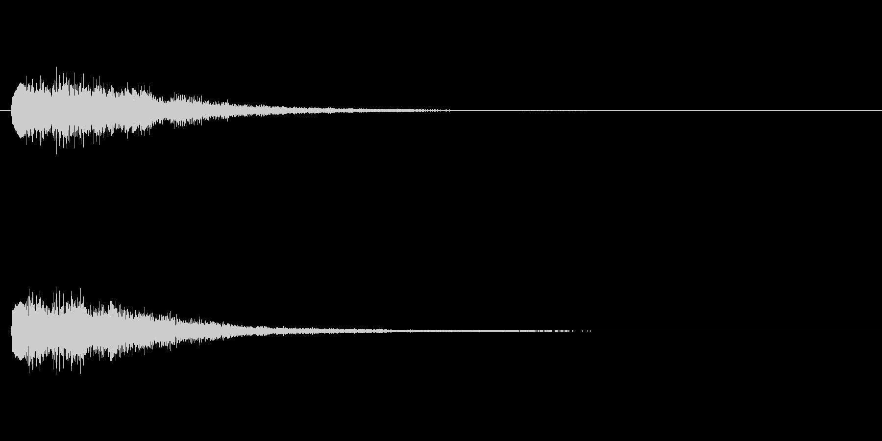 [チャララン]パラメータUP(コミカル)の未再生の波形