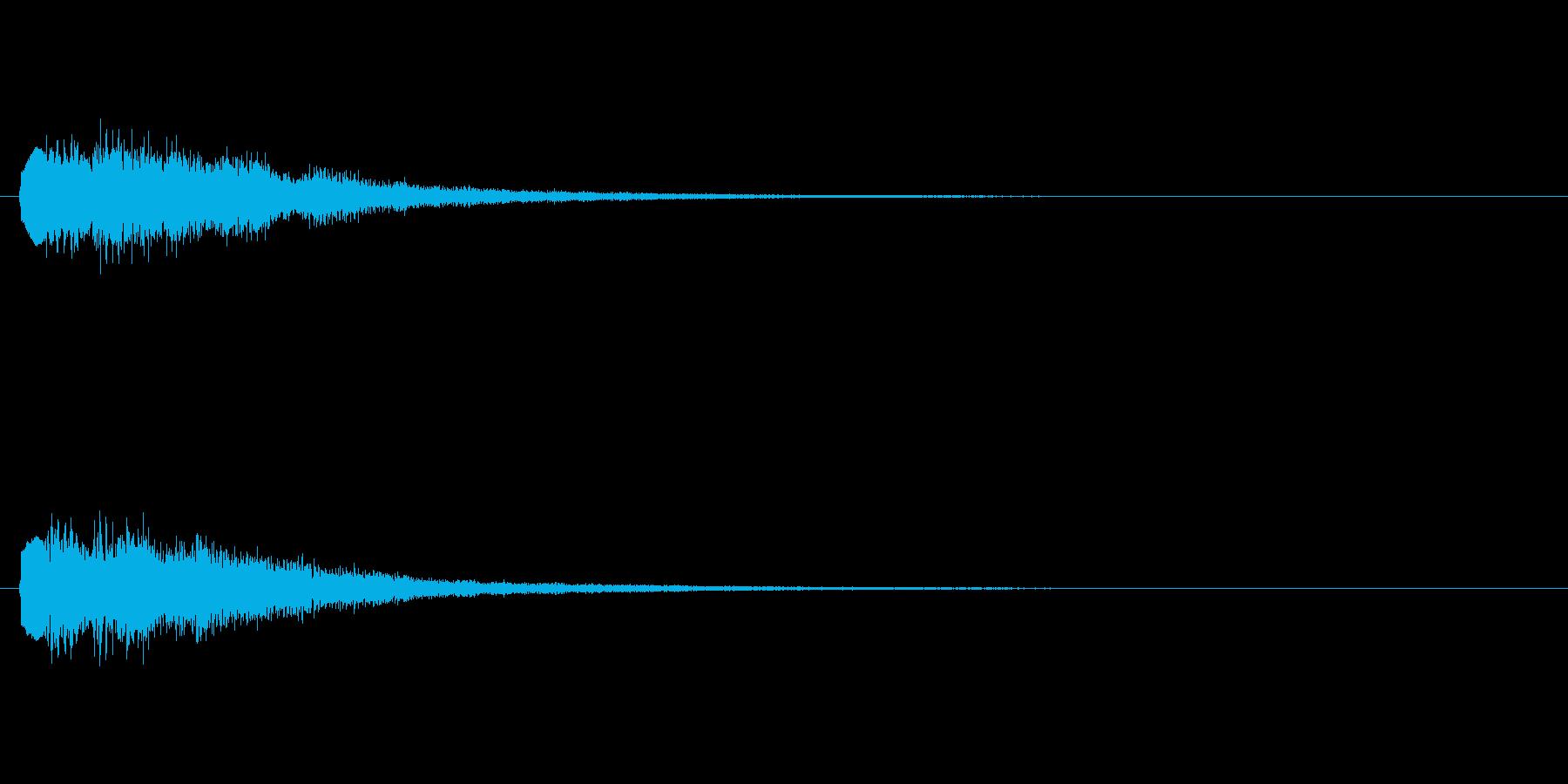 [チャララン]パラメータUP(コミカル)の再生済みの波形