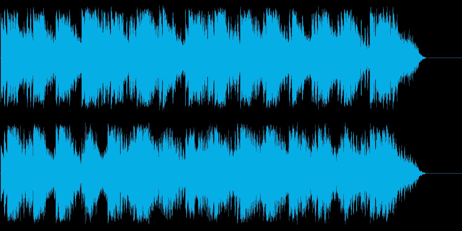 幻想的で哀愁を誘うピアノ曲の再生済みの波形