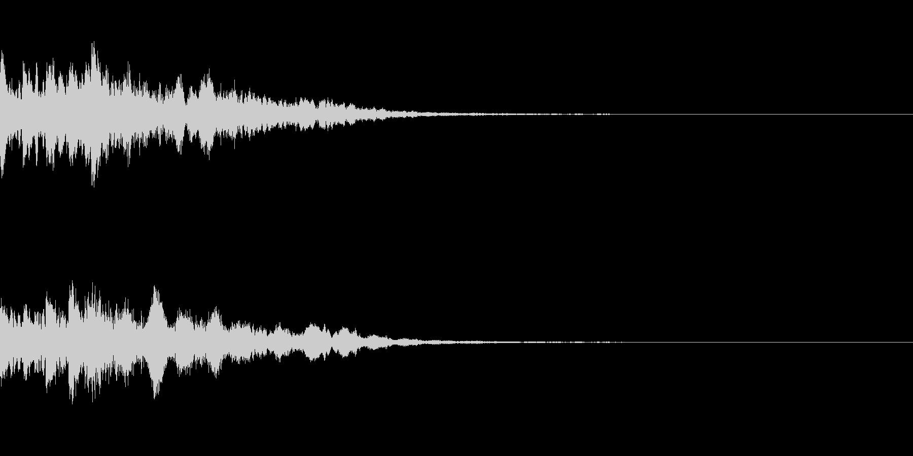 ミステリー系導入音_その2の未再生の波形