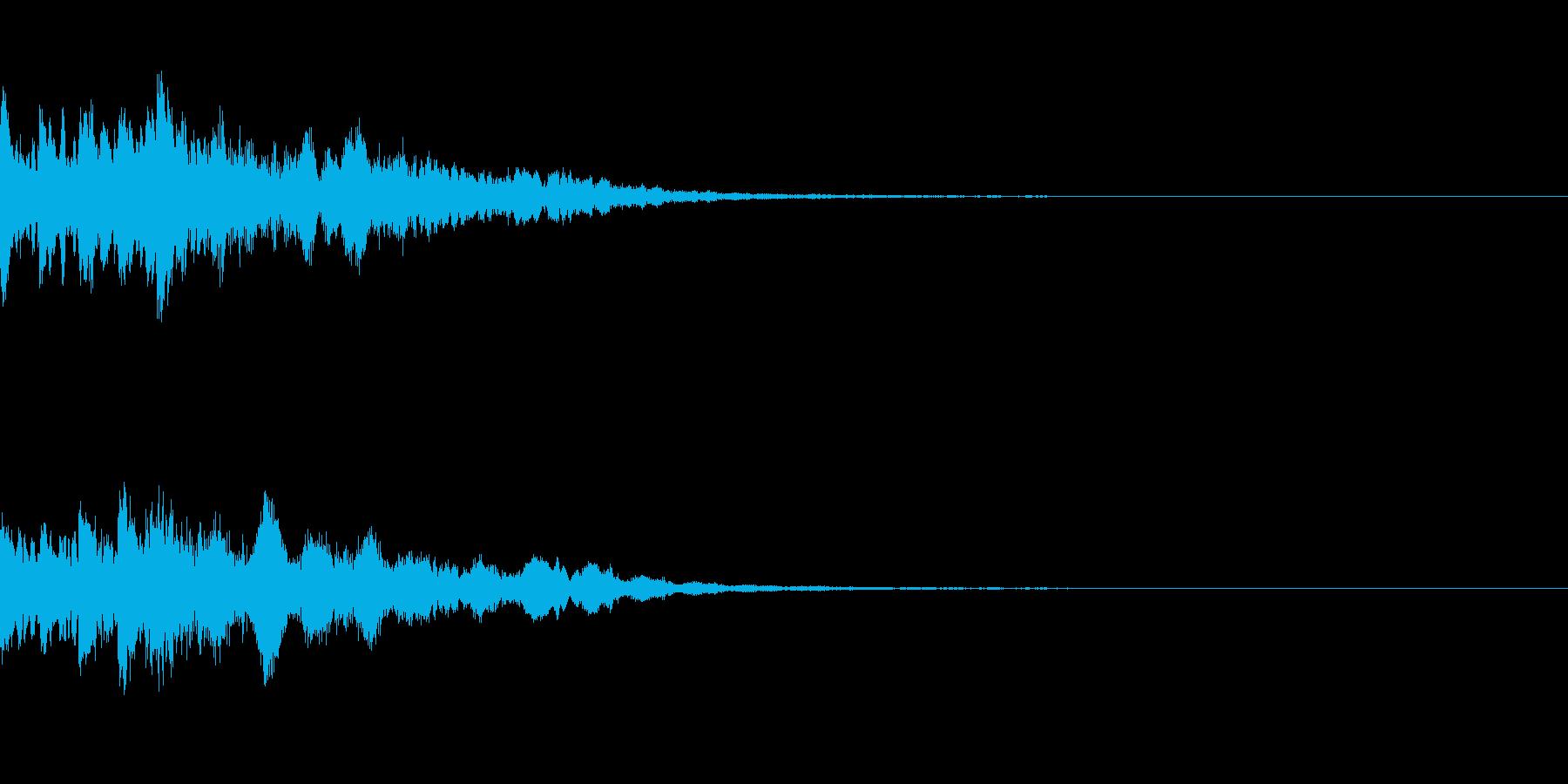 ミステリー系導入音_その2の再生済みの波形
