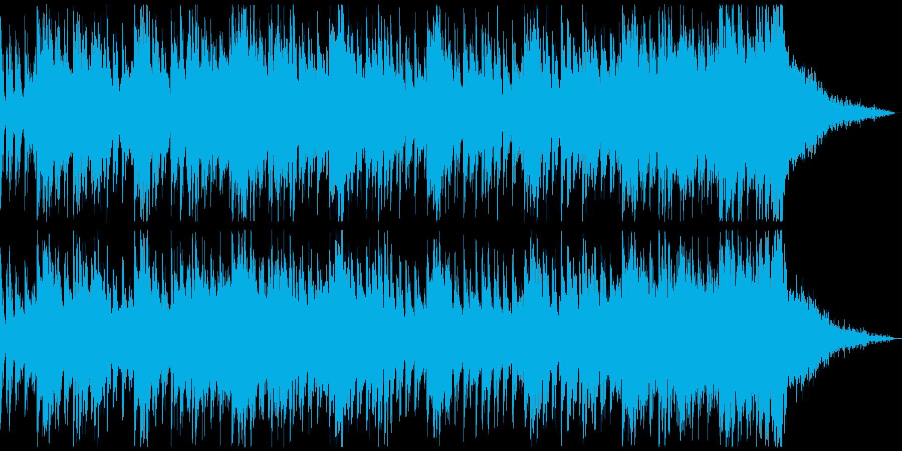 オシャ4つ打ち、スタイリッシュ雰囲気系5の再生済みの波形
