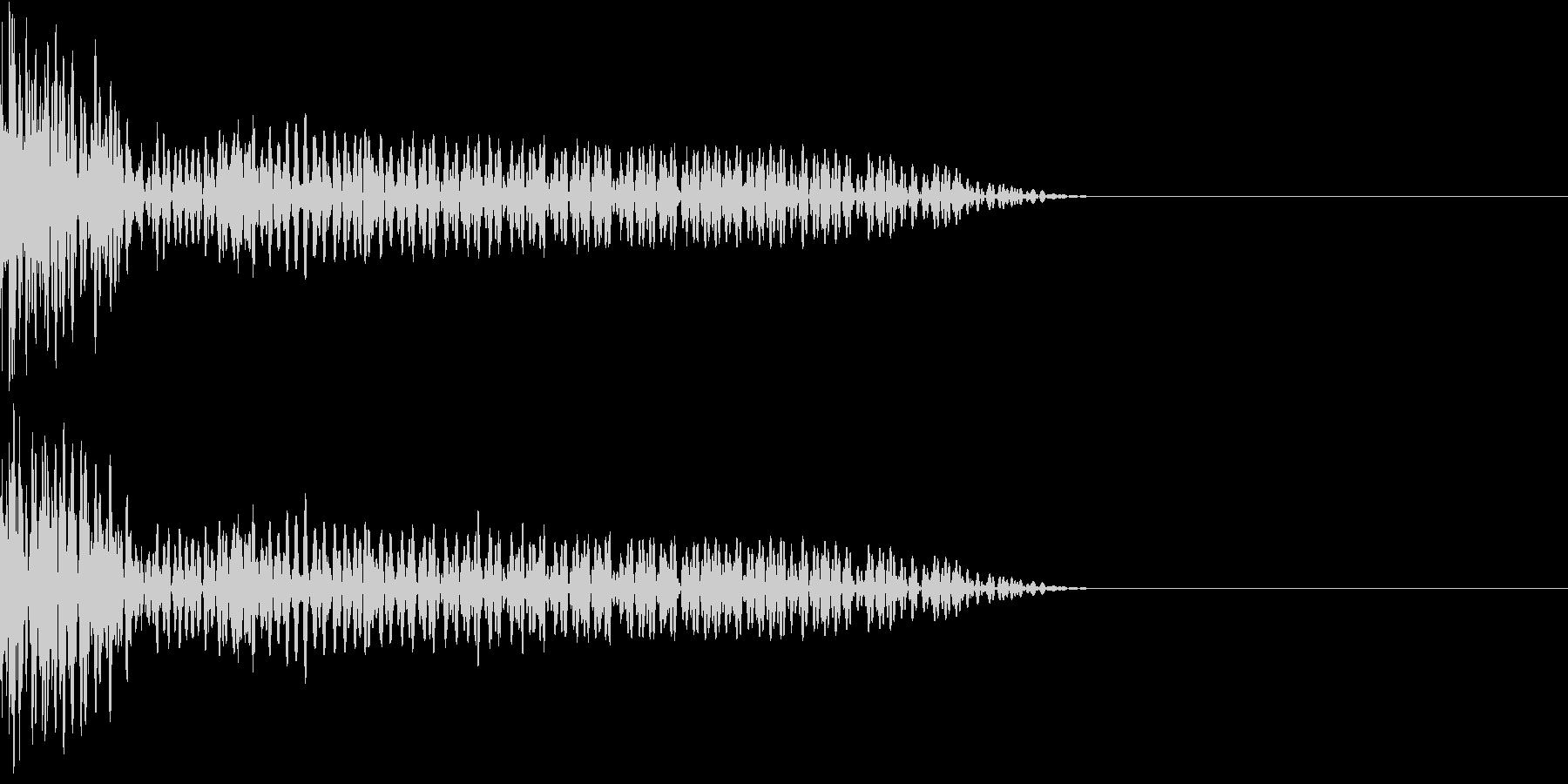 クリエイター様向け!EDMバスドラム2Aの未再生の波形