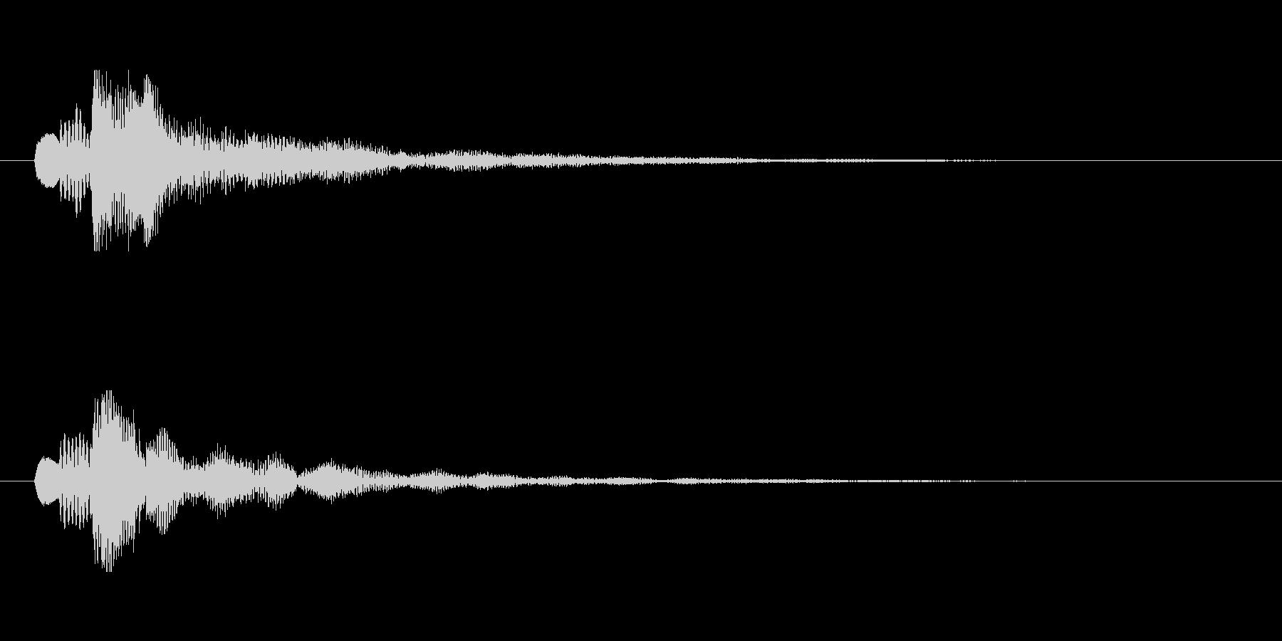 【ショートブリッジ01-1】の未再生の波形