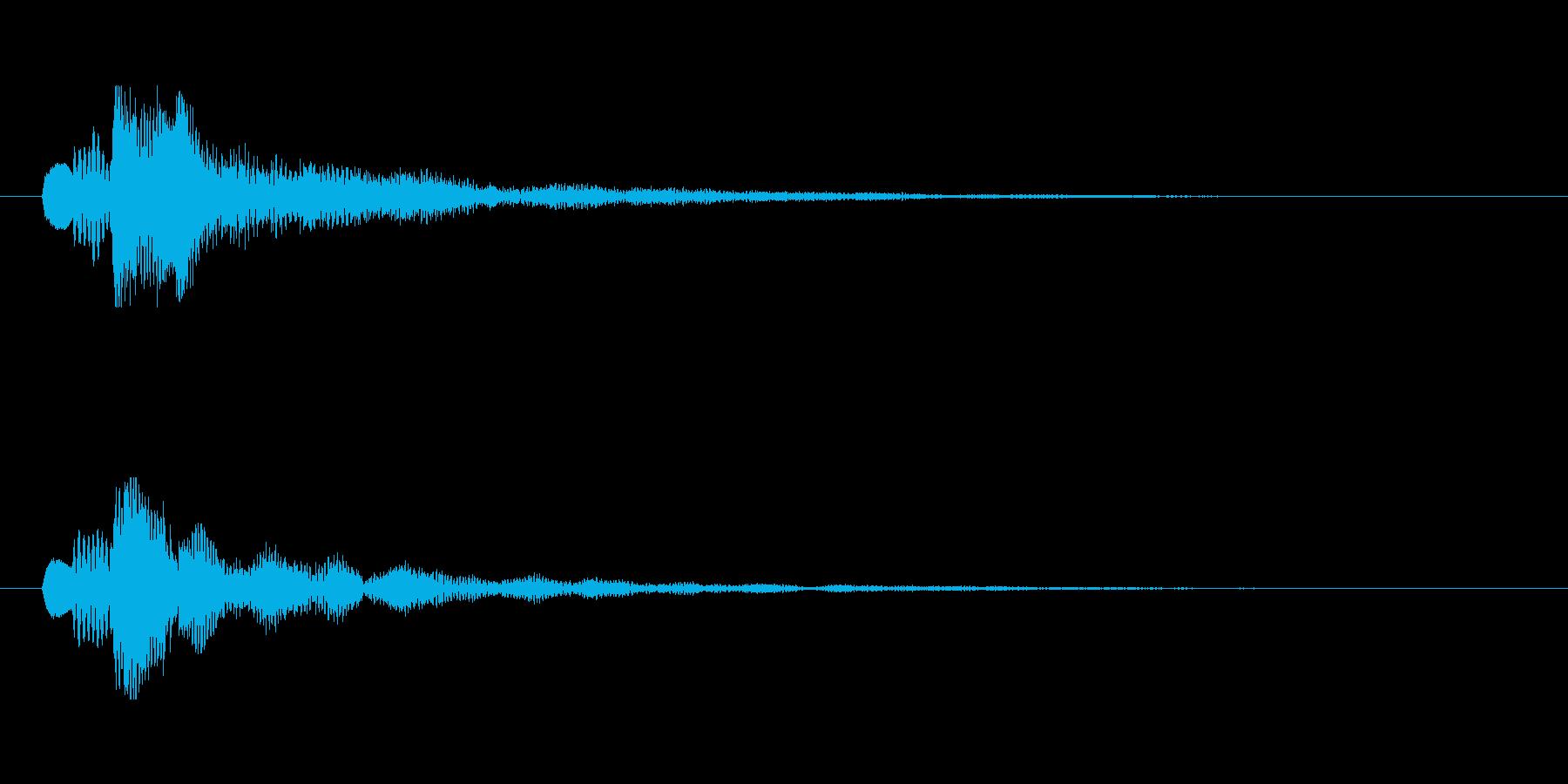 【ショートブリッジ01-1】の再生済みの波形