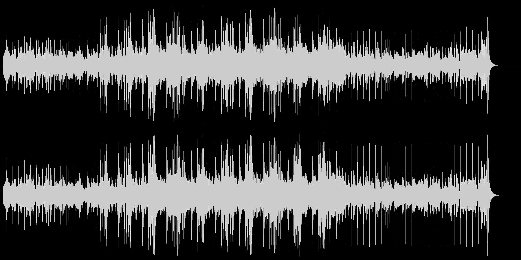 ドキュメント向きジャジーなヴァーチャル風の未再生の波形