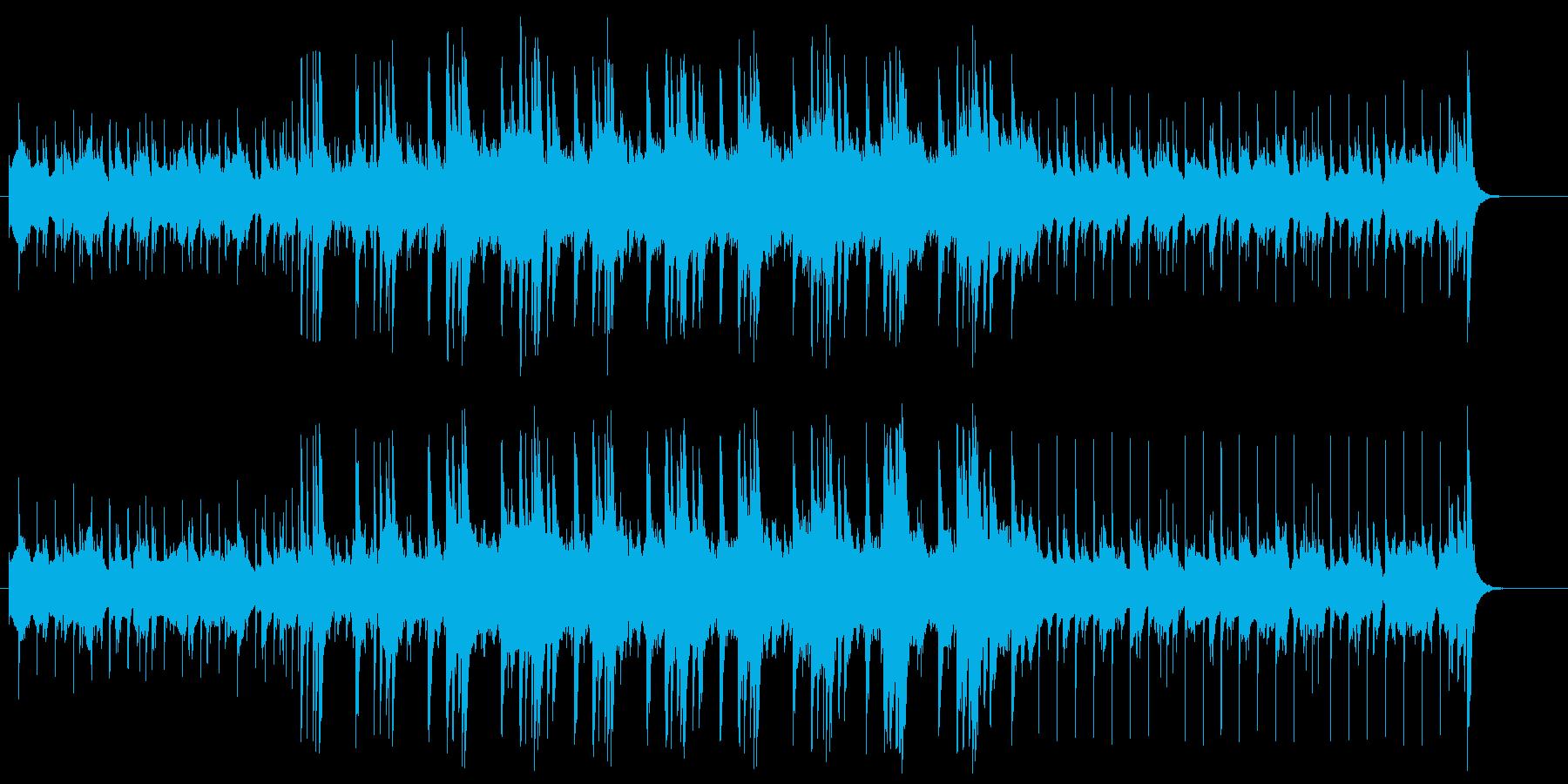 ドキュメント向きジャジーなヴァーチャル風の再生済みの波形