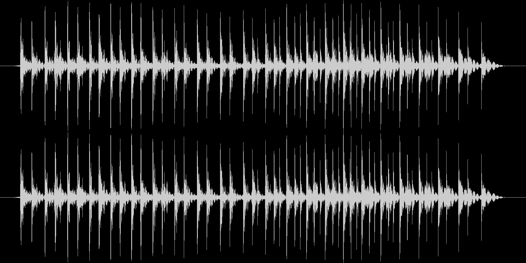 ガガガガガガガ・・・(ギロ的な)の未再生の波形