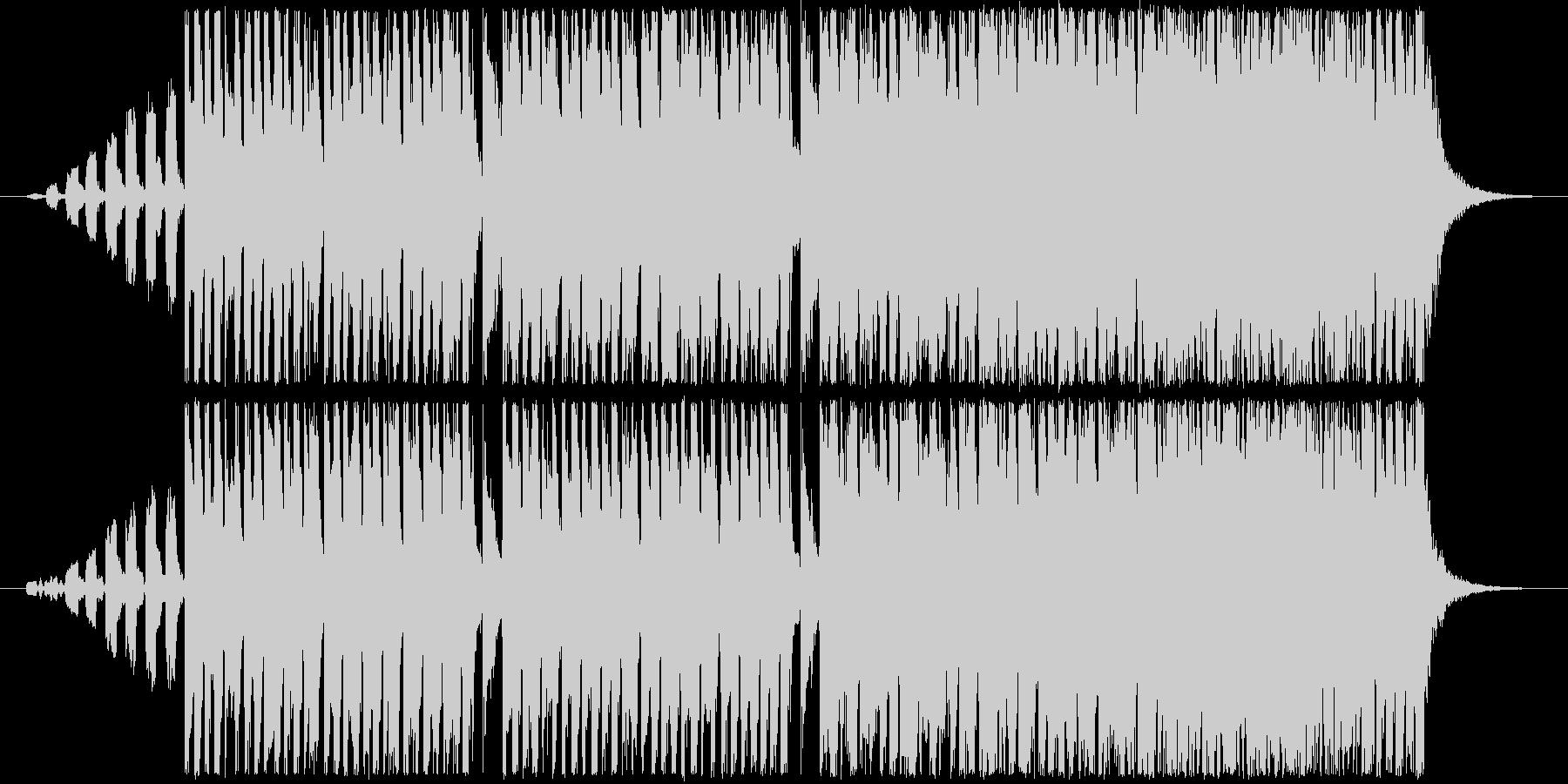 着信アプリ採用曲。コミカルなフレーズの曲の未再生の波形