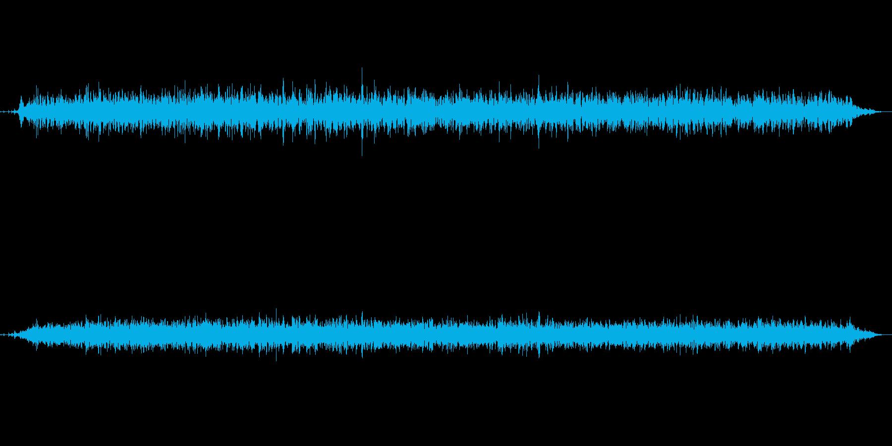 ドライヤー(弱)の再生済みの波形