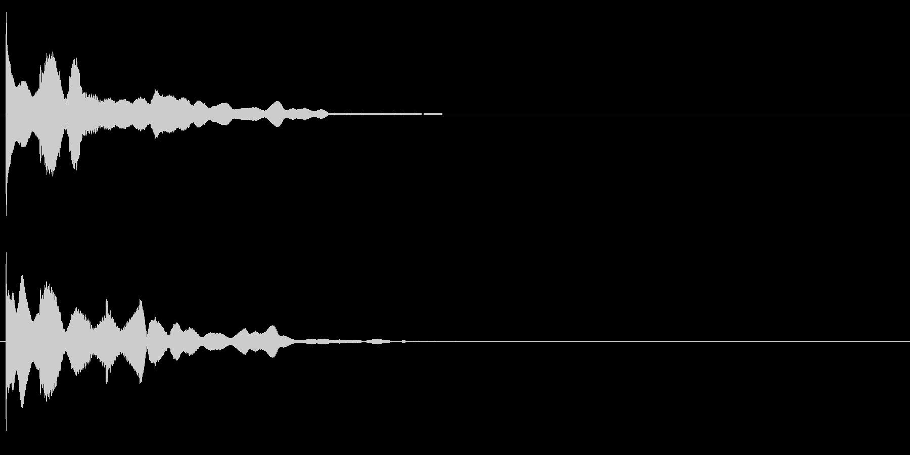 ピロローン (起動音)の未再生の波形