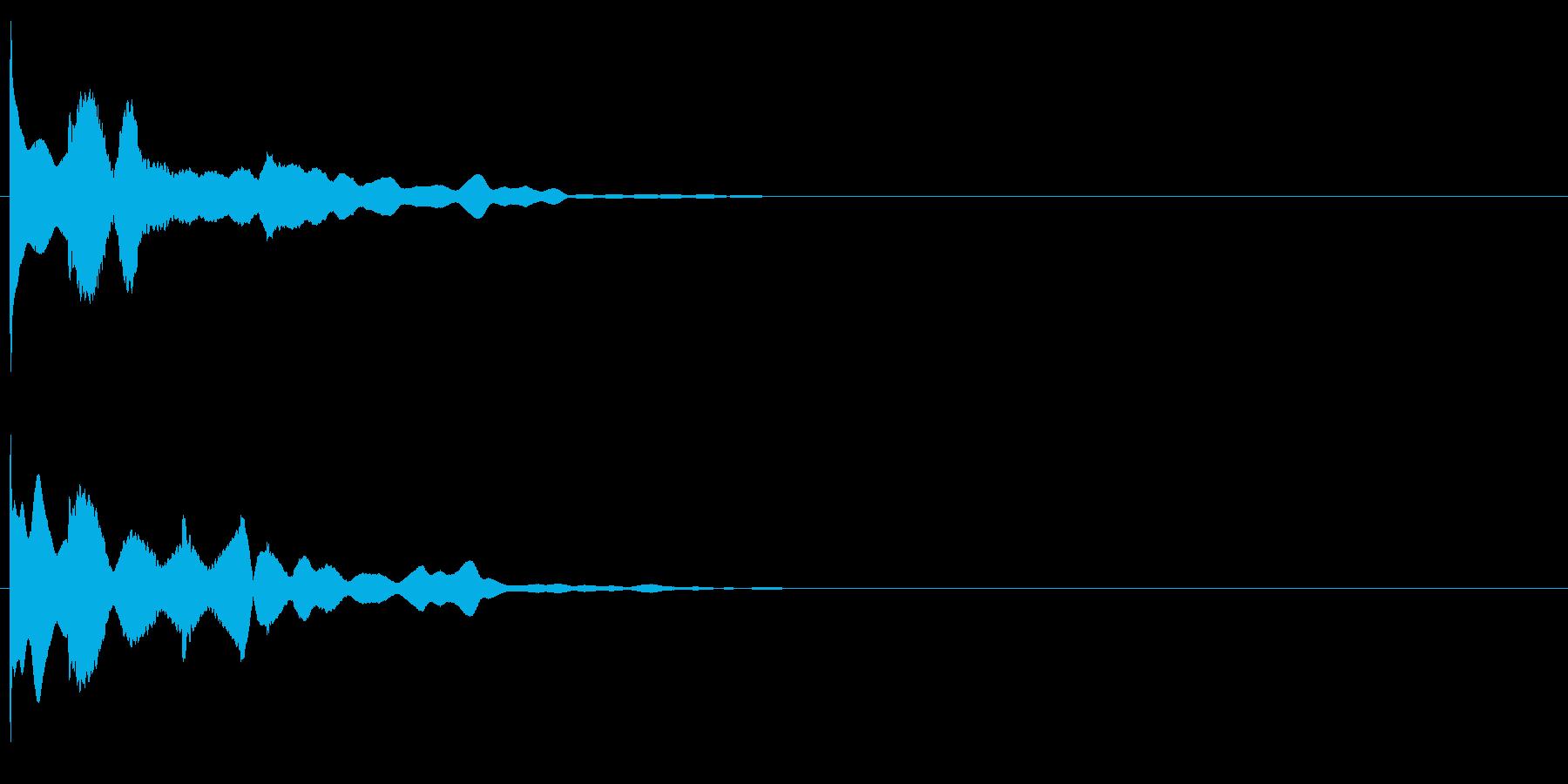 ピロローン (起動音)の再生済みの波形