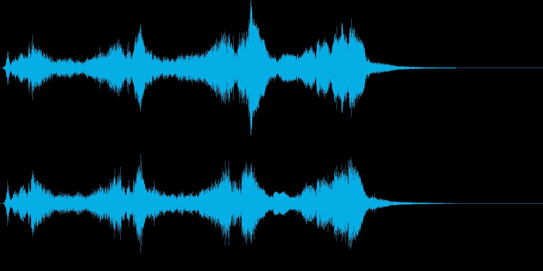 トムとジェリー風なアニメ音楽「驚き」1の再生済みの波形