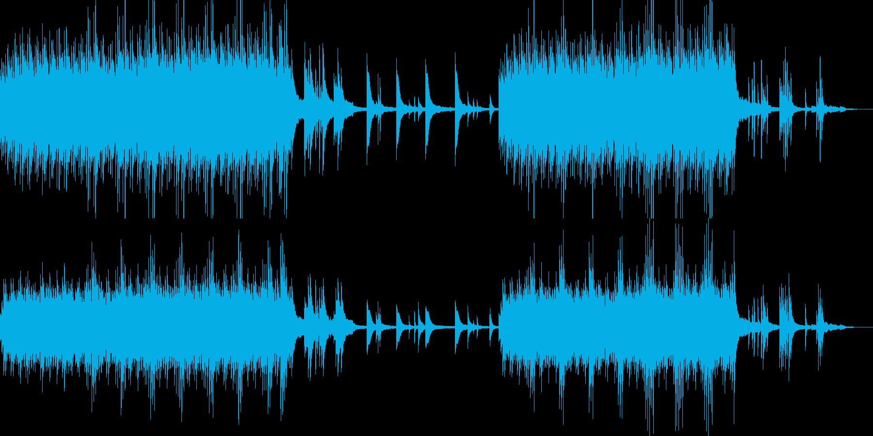 穏やかな昼間を想像させるピアノサウンドの再生済みの波形
