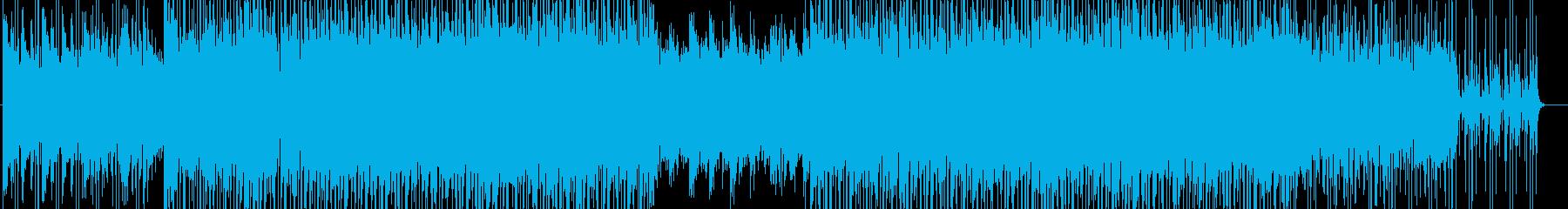 ラグジュアリーで落ち着いた雰囲気のBGMの再生済みの波形