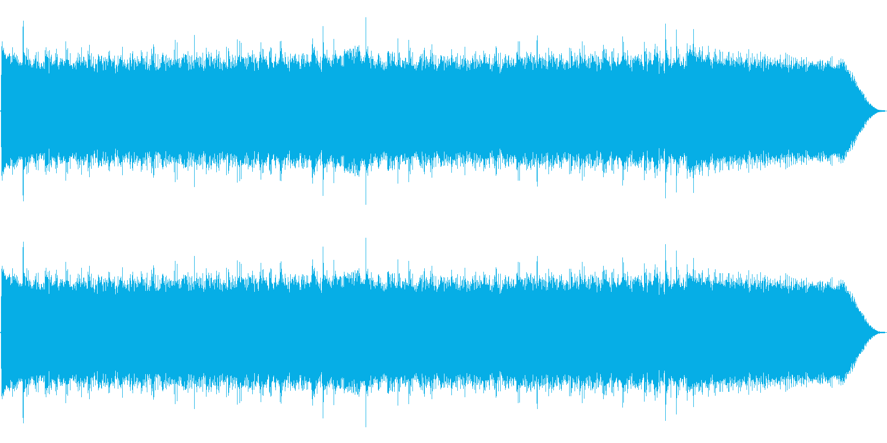 【15秒】カッコいいロックなジングルの再生済みの波形