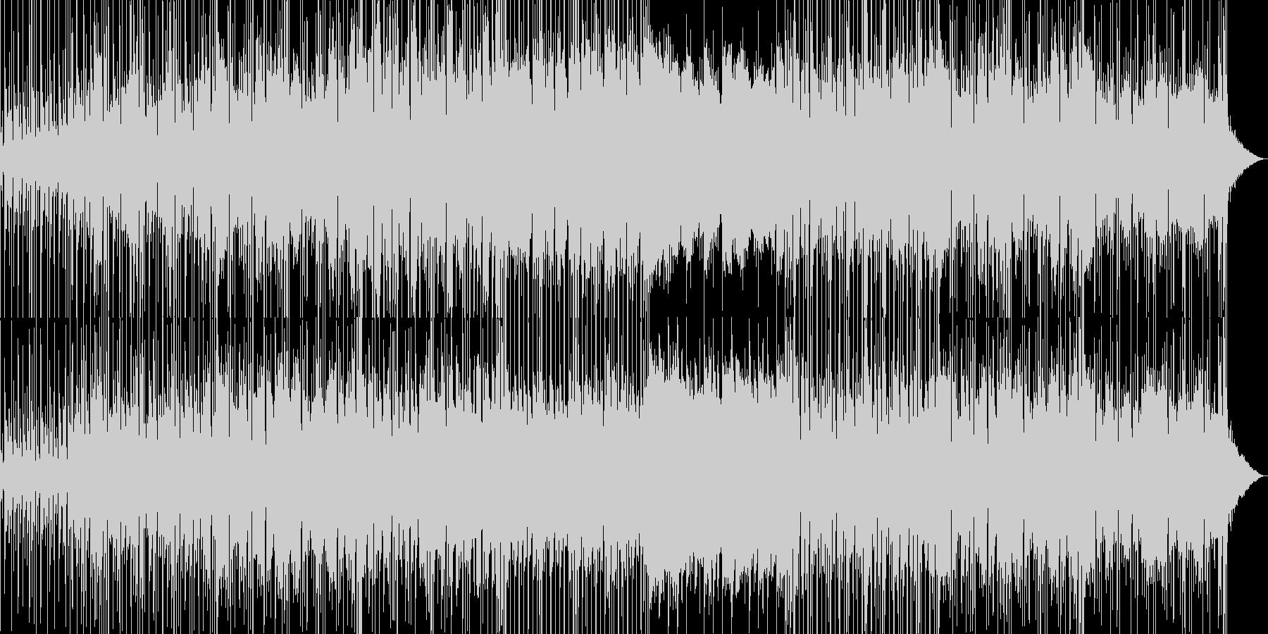 情熱的で切ないおしゃれなBGMの未再生の波形