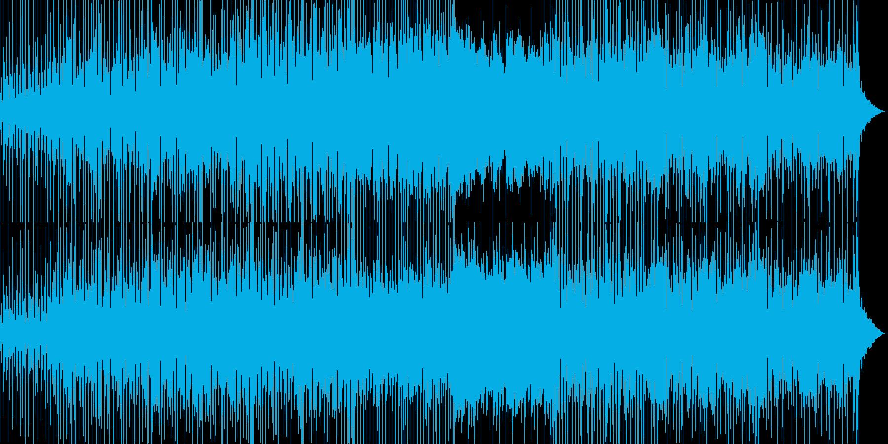 情熱的で切ないおしゃれなBGMの再生済みの波形