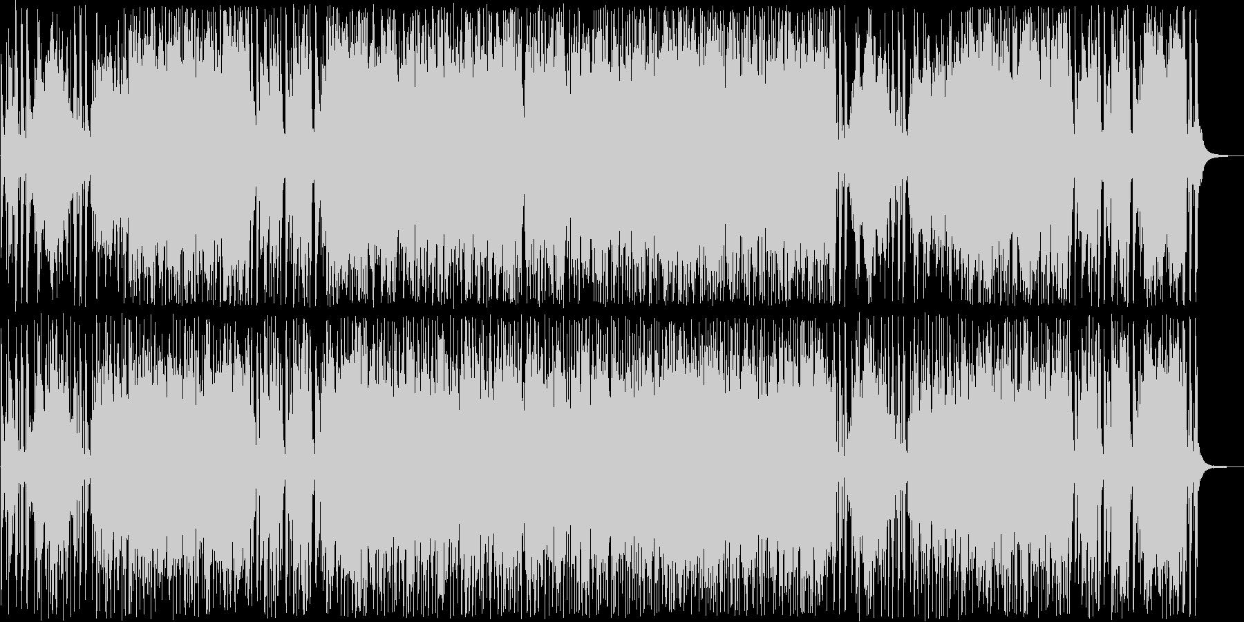 スタイリッシュなミディアムポップスの未再生の波形