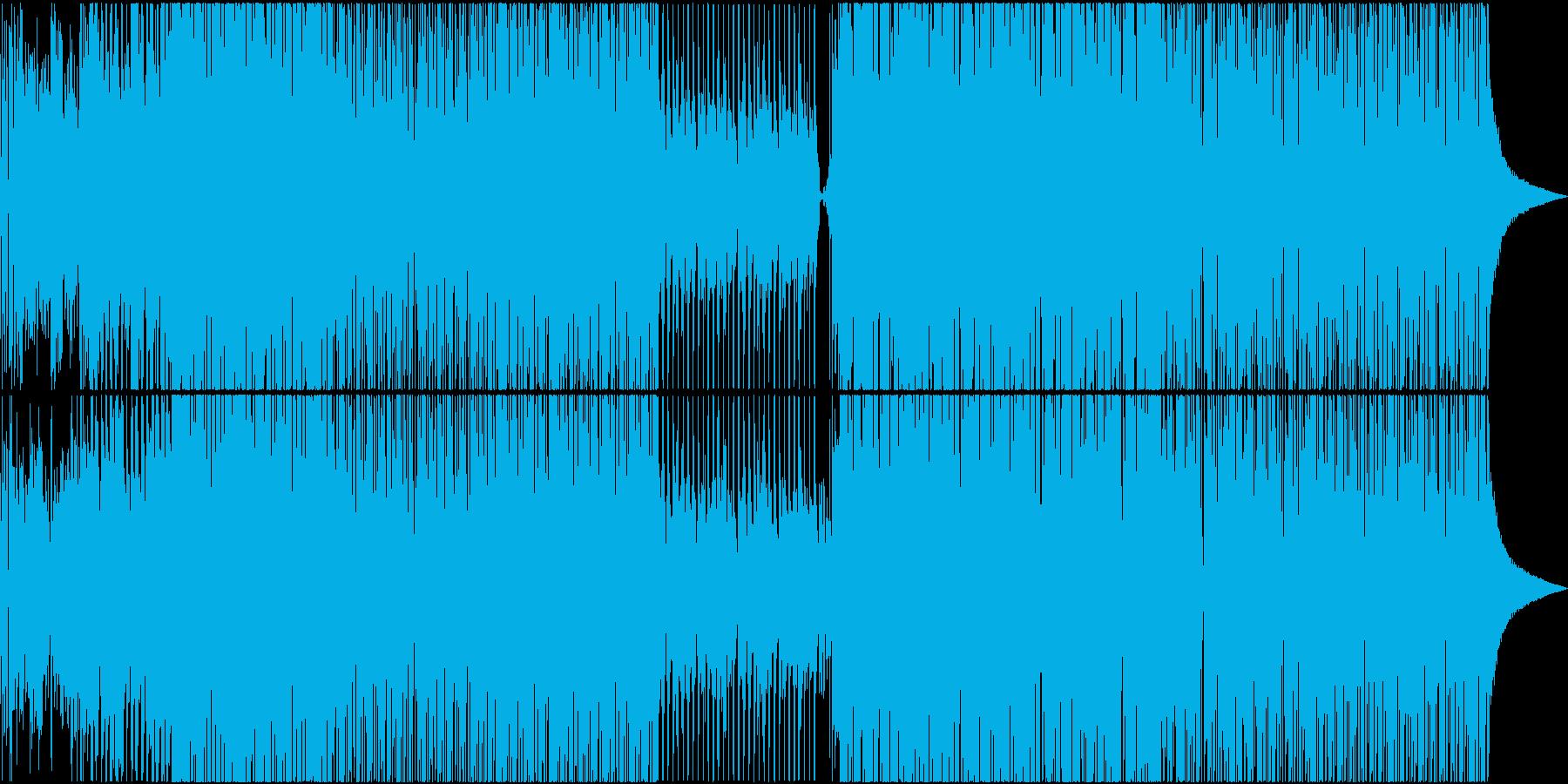 EDM トロピカル レゲエ 哀愁 RAPの再生済みの波形