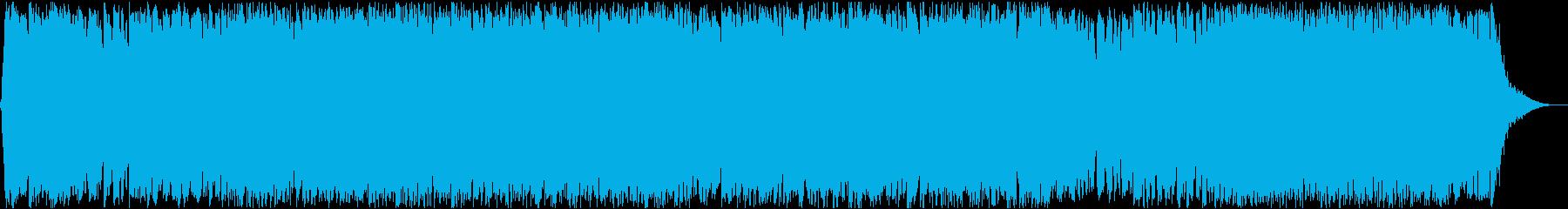 ダークファンタジーオーケストラ戦闘曲56の再生済みの波形