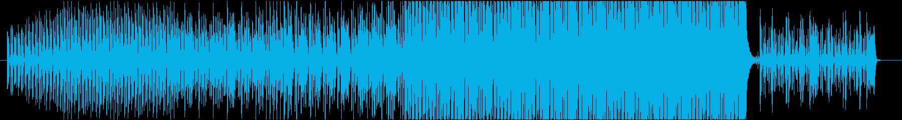 EDM 軽快なエレクトロスウィングの再生済みの波形