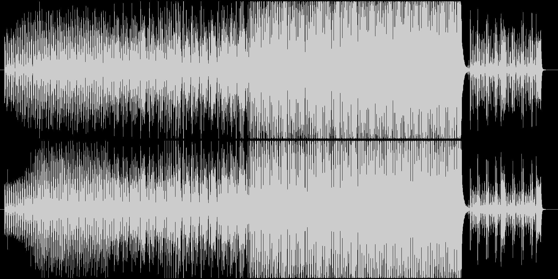 EDM 軽快なエレクトロスウィングの未再生の波形