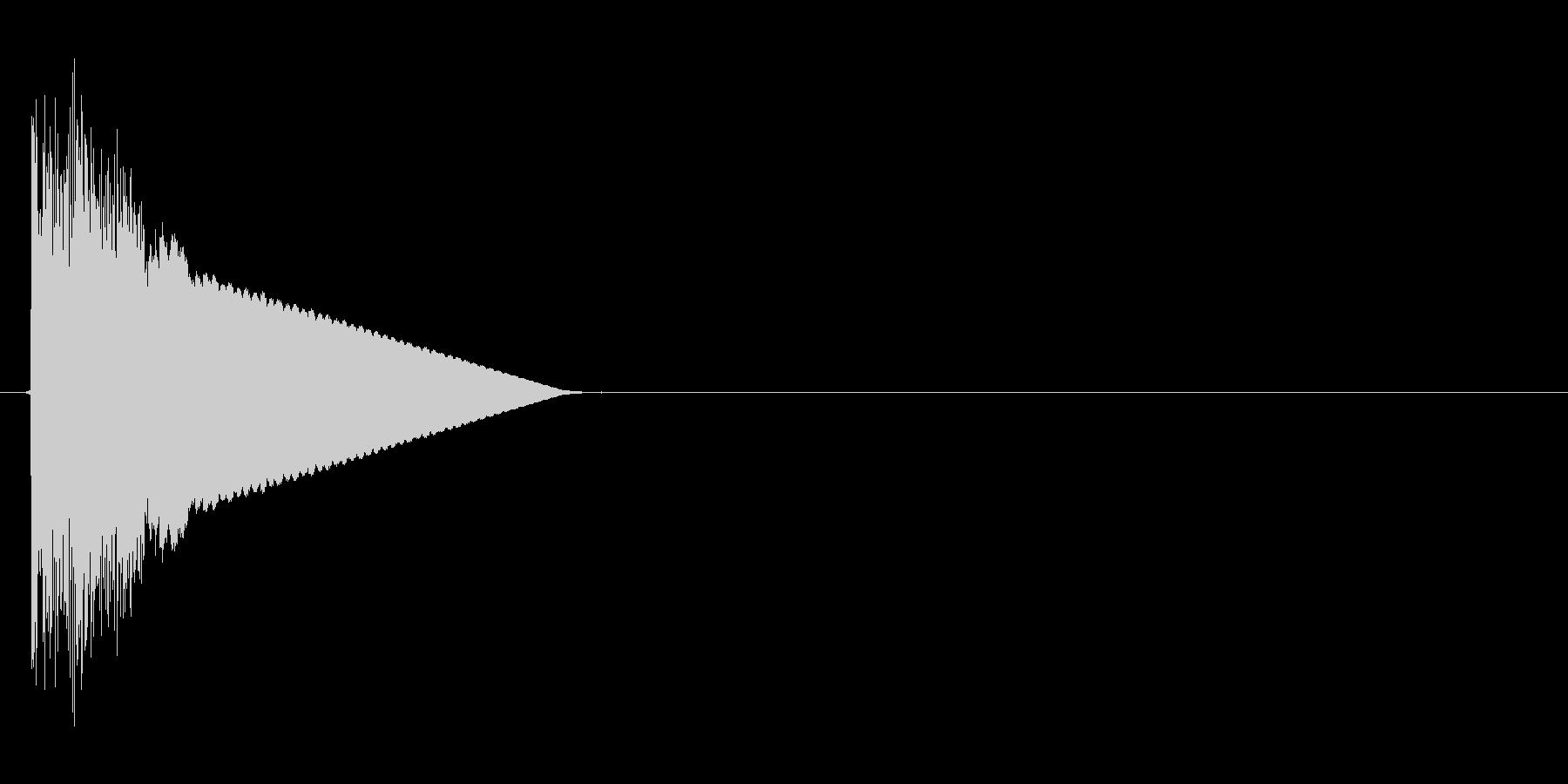 キュイーン!(行動ターン、合図)の未再生の波形