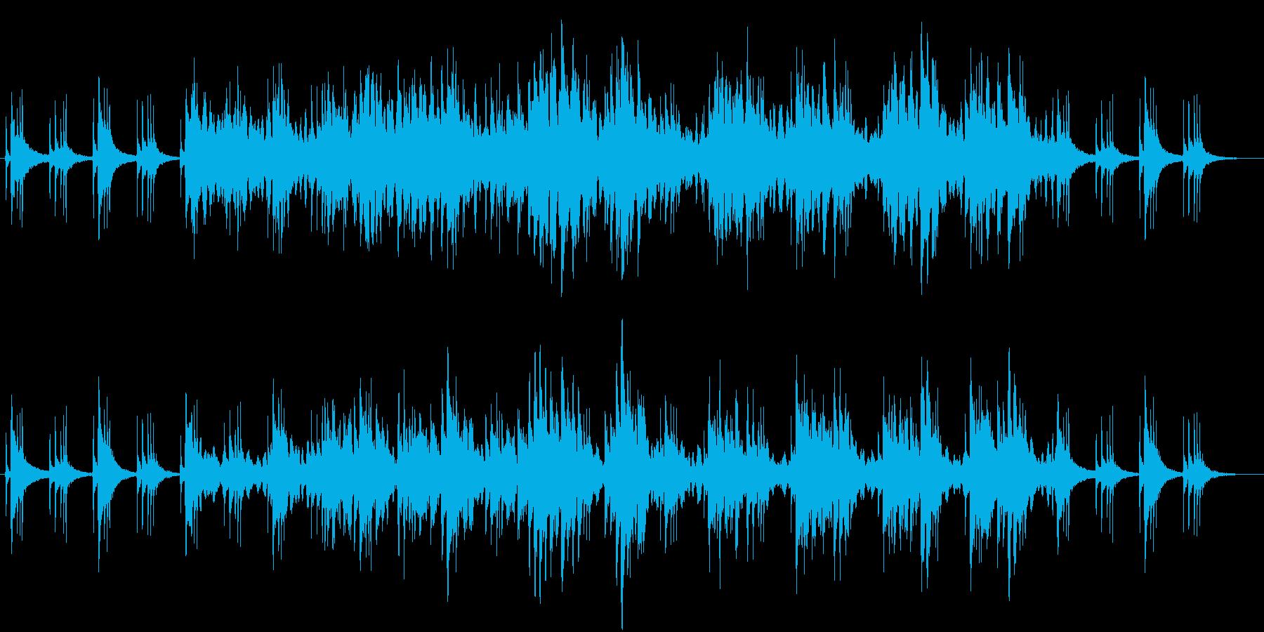癒やし 和食 温泉 三味線 シンセ 正月の再生済みの波形