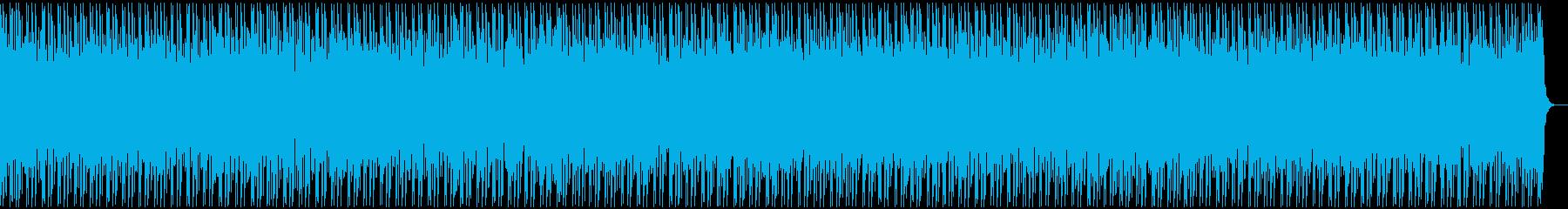 フリースタイル用ビート(あやしい)の再生済みの波形
