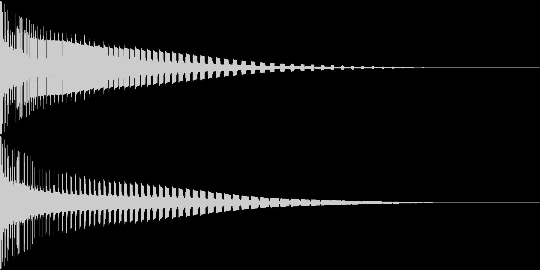 Henteko 可愛いクラッシュ音 3の未再生の波形