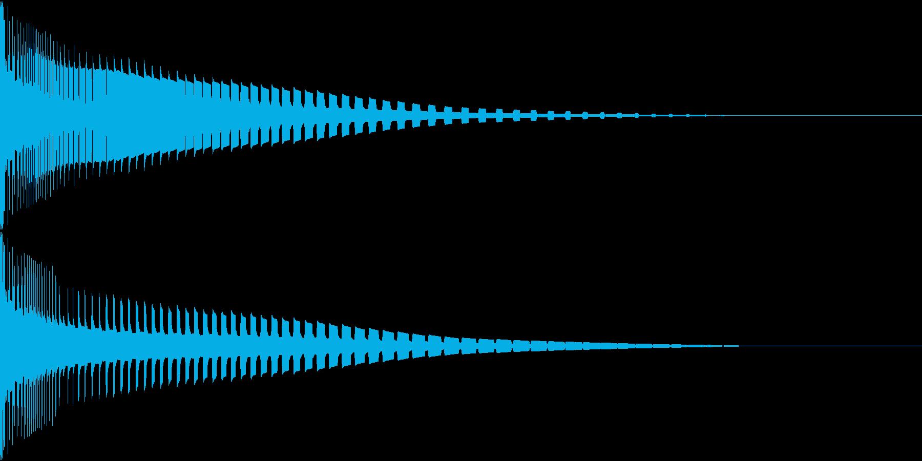 Henteko 可愛いクラッシュ音 3の再生済みの波形