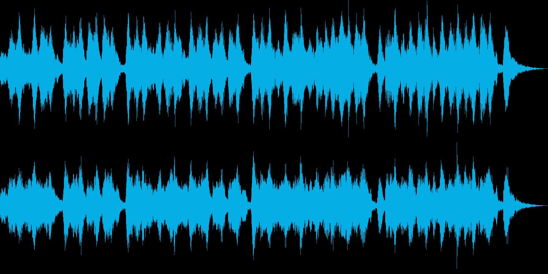 哀しい雰囲気のクラシックジングルの再生済みの波形