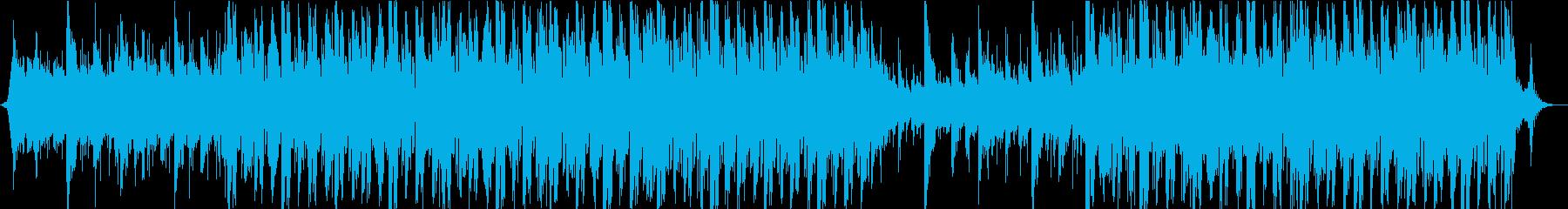 アコギシンセはるか長い旅をイメージした曲の再生済みの波形