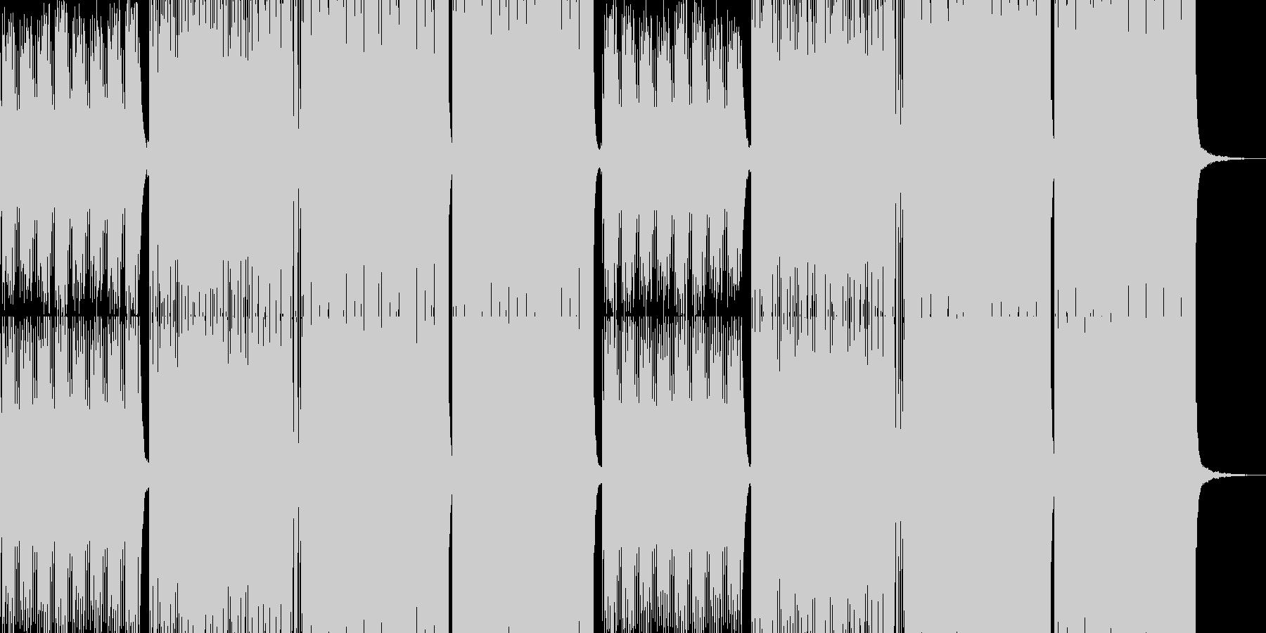 ノイズとビートの底抜けにクールな、st…の未再生の波形