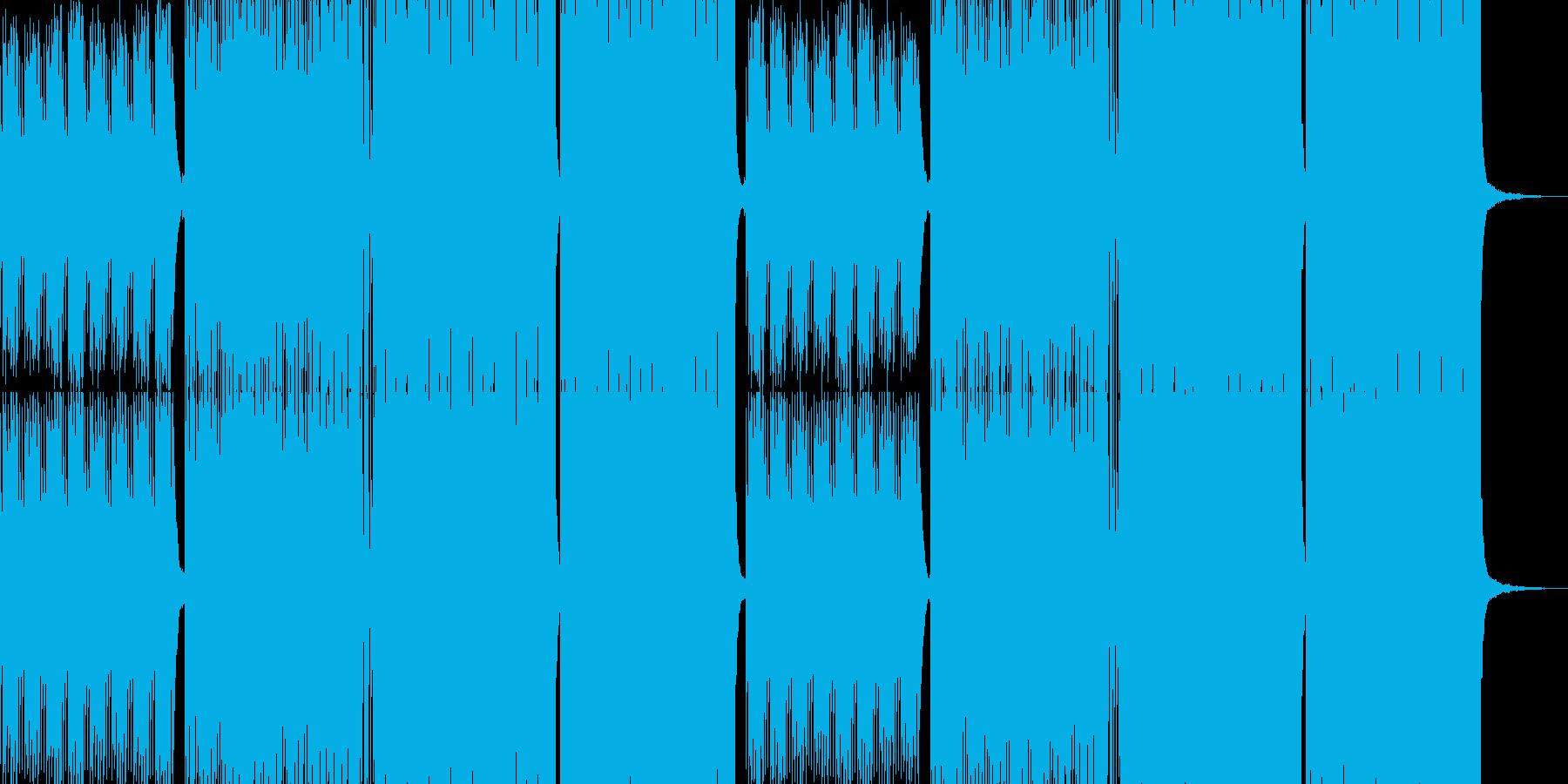 ノイズとビートの底抜けにクールな、st…の再生済みの波形