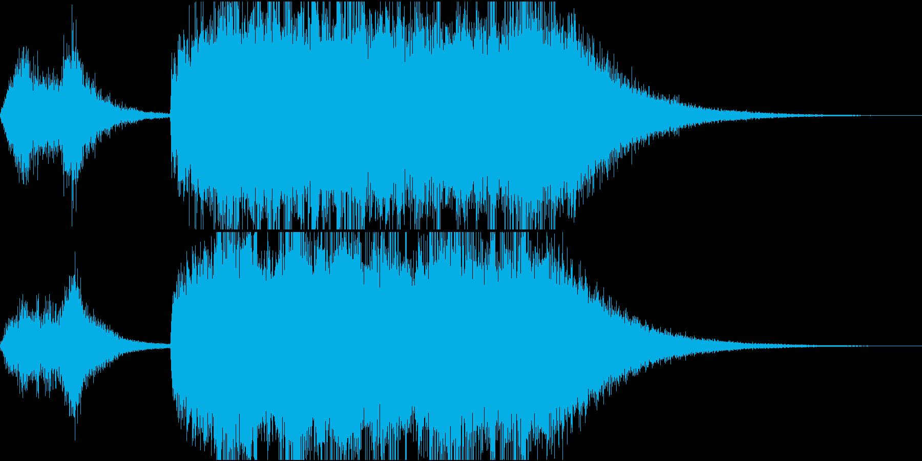 テッテレー!/達成/レベルアップSE3の再生済みの波形