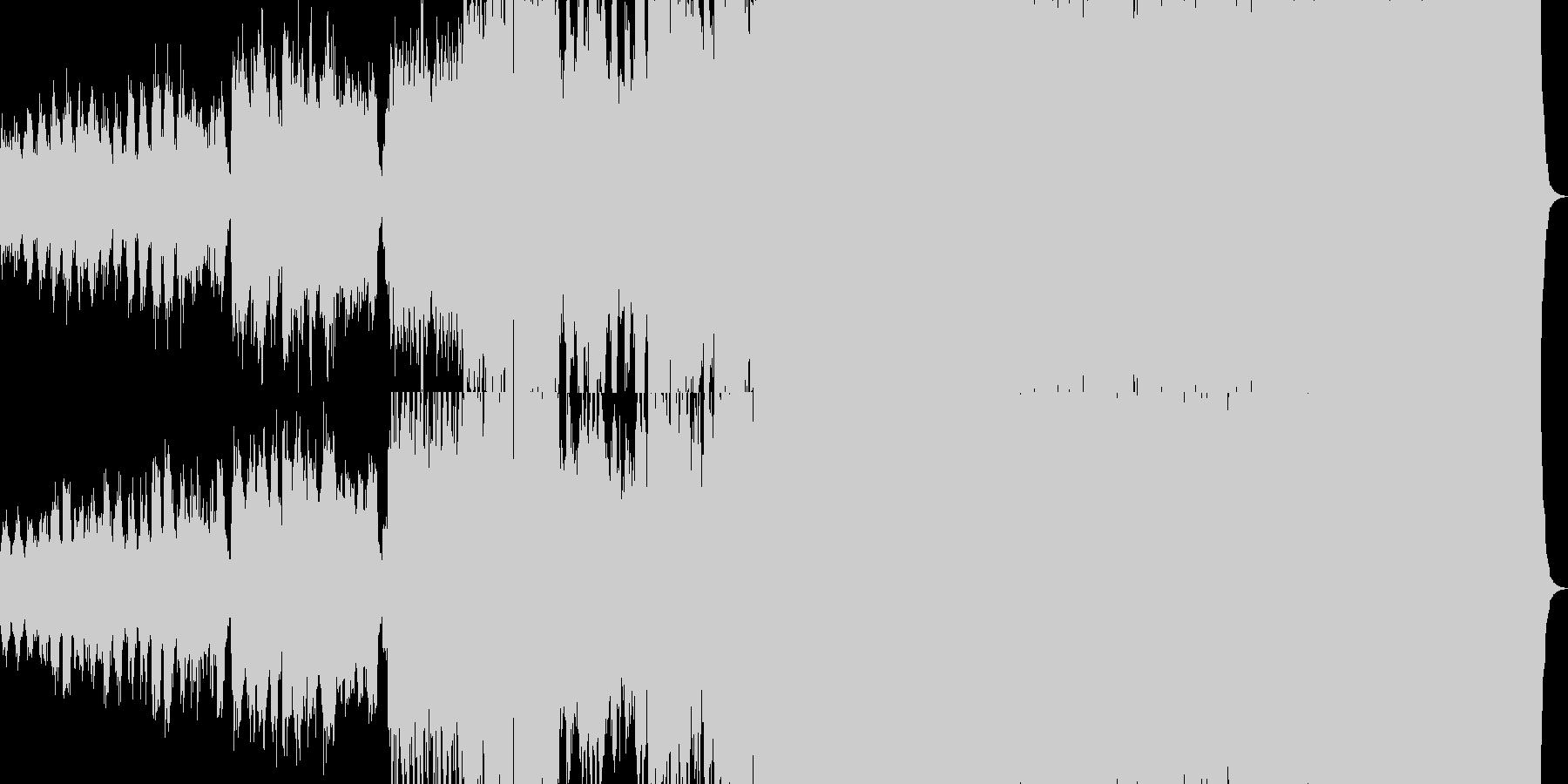 ファンタジー映画楽曲の未再生の波形