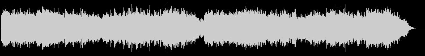 ベルの音が印象的なホラーBGMの未再生の波形
