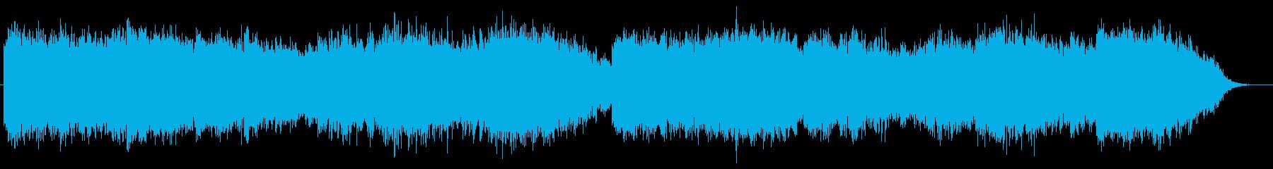 ベルの音が印象的なホラーBGMの再生済みの波形