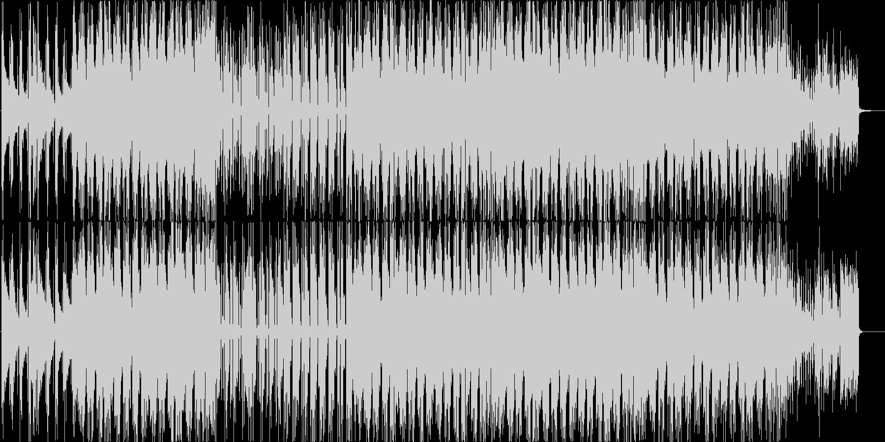 アコギのアルペジオが特徴の切ない系BGMの未再生の波形